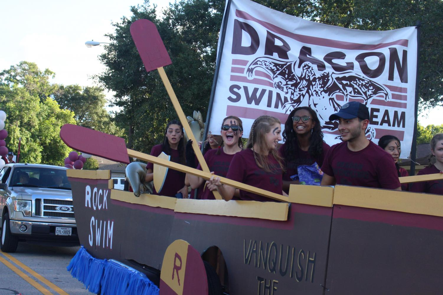 RRHS Swim team. Photo by Abbey Gray