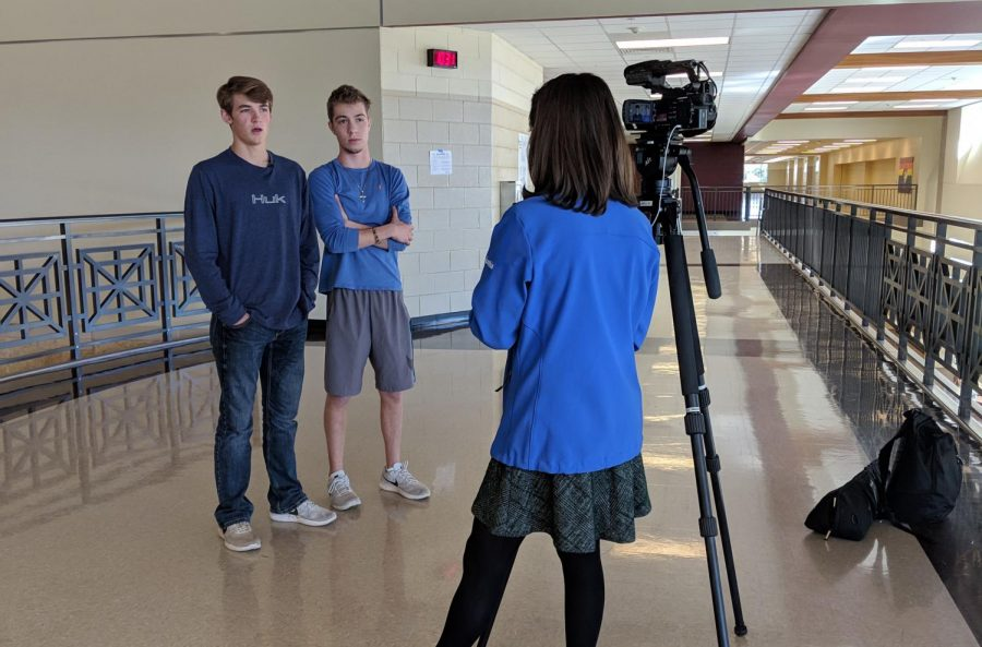 Left+is+Tyler+Ludemann%2C+Right+is+Nick+Goodrum+being+interviewed.