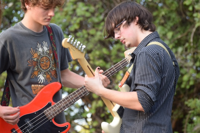 Student bands play to their own tune